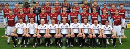 Burnley FC First Team Squad