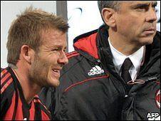 D Beckham of Milan