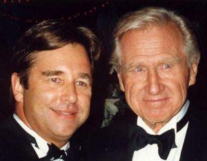 Ray Houghton and Giovanni Trapattoni