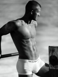 Beckham in Pants