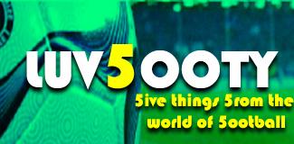 Luvfooty - Five Things