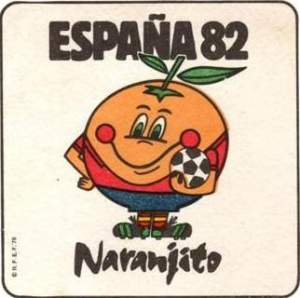 Naranjito, the mascot. I guess Pique was the next one.